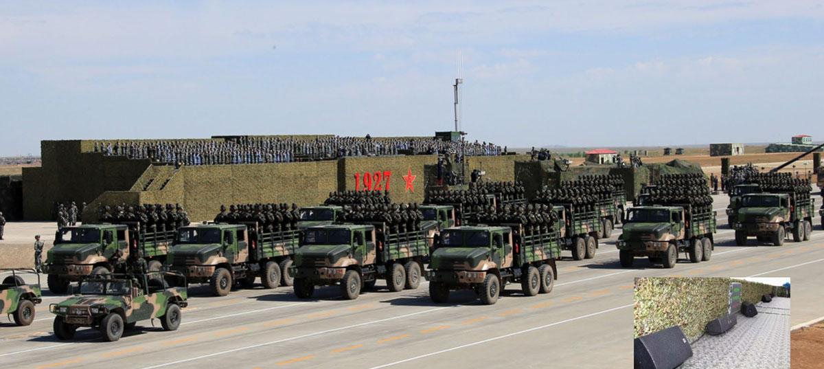 朱日和建军90周年大阅兵